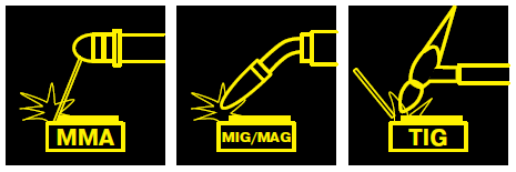 MMA MIG MAG TIG